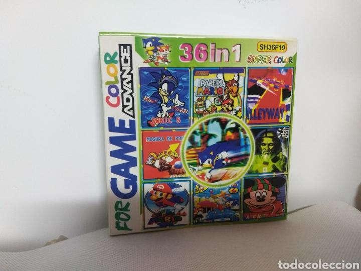 M69 JUEGO FOR GAME COLOR ADVANCE NINTENDO 36 EN 1 (VER DESCRIPCION) (Juguetes - Videojuegos y Consolas - Nintendo - GameBoy Color)