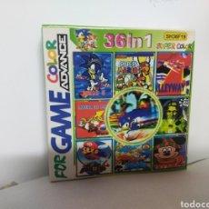 Videojuegos y Consolas: M69 JUEGO FOR GAME COLOR ADVANCE NINTENDO 36 EN 1 (VER DESCRIPCION). Lote 235333425