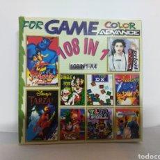 Videojuegos y Consolas: M69 JUEGO FOR GAME COLOR ADVANCE NINTENDO 108 EN 1 (VER DESCRIPCION). Lote 235333610