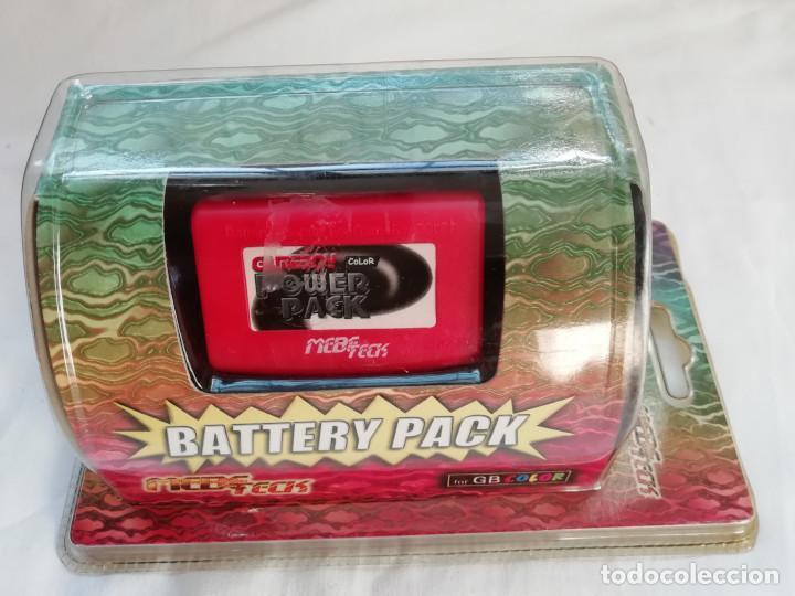 NINTENDO GAME BOY COLOR BATTERY PACK - NUEVO (Juguetes - Videojuegos y Consolas - Nintendo - GameBoy Color)