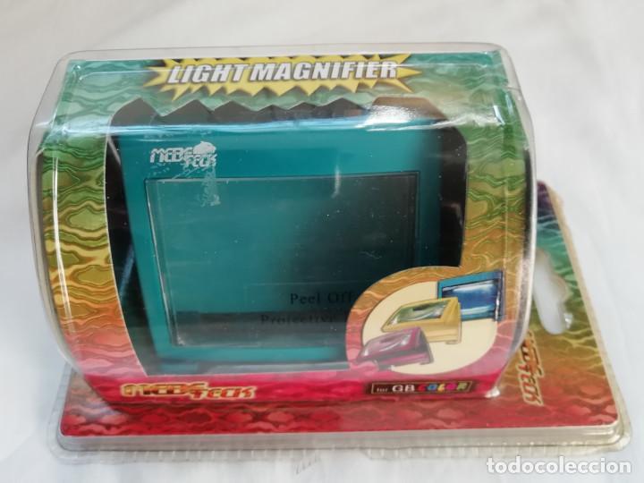 NINTENDO GAME BOY COLOR LIGHT MAGNIFIER LUPA CON LUZ - NUEVO (Juguetes - Videojuegos y Consolas - Nintendo - GameBoy Color)