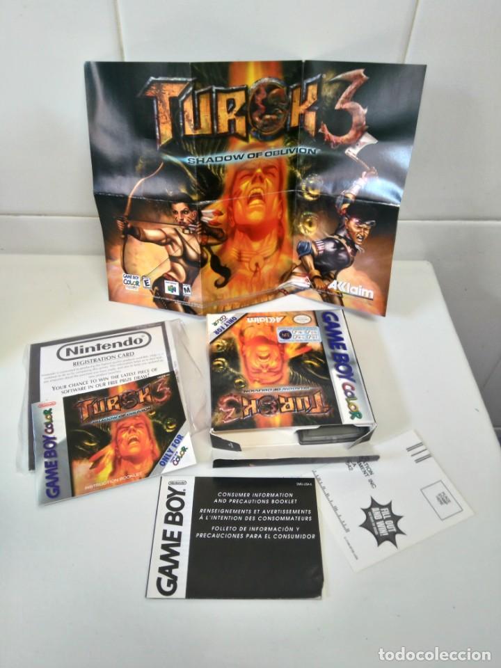 TUROK 3 GAMEBOY COLOR ENTRE Y MIRE MIS OTROS JUEGOS!! (Juguetes - Videojuegos y Consolas - Nintendo - GameBoy Color)