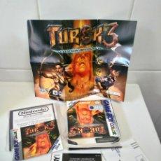 Videojuegos y Consolas: TUROK 3 GAMEBOY COLOR MIRE MIS OTROS JUEGOS NINTENDO SONY SEGA MEGADRIVE DREAMCAST SATURN SNES N64. Lote 235711610