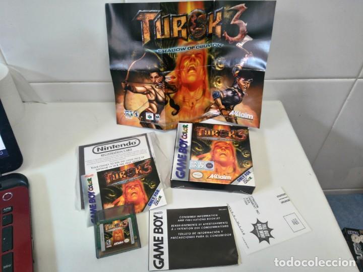 Videojuegos y Consolas: TUROK 3 GAMEBOY COLOR ENTRE Y MIRE MIS OTROS JUEGOS!! - Foto 2 - 235711610