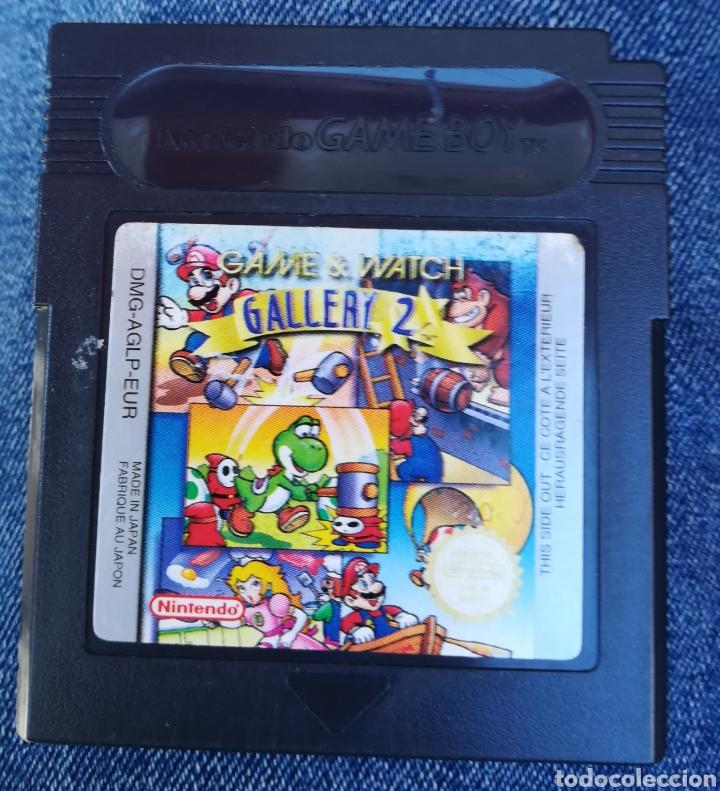 GAME WATCH GALLERY 2 ORIGINAL NINTENDO GAME BOY (Juguetes - Videojuegos y Consolas - Nintendo - GameBoy Color)