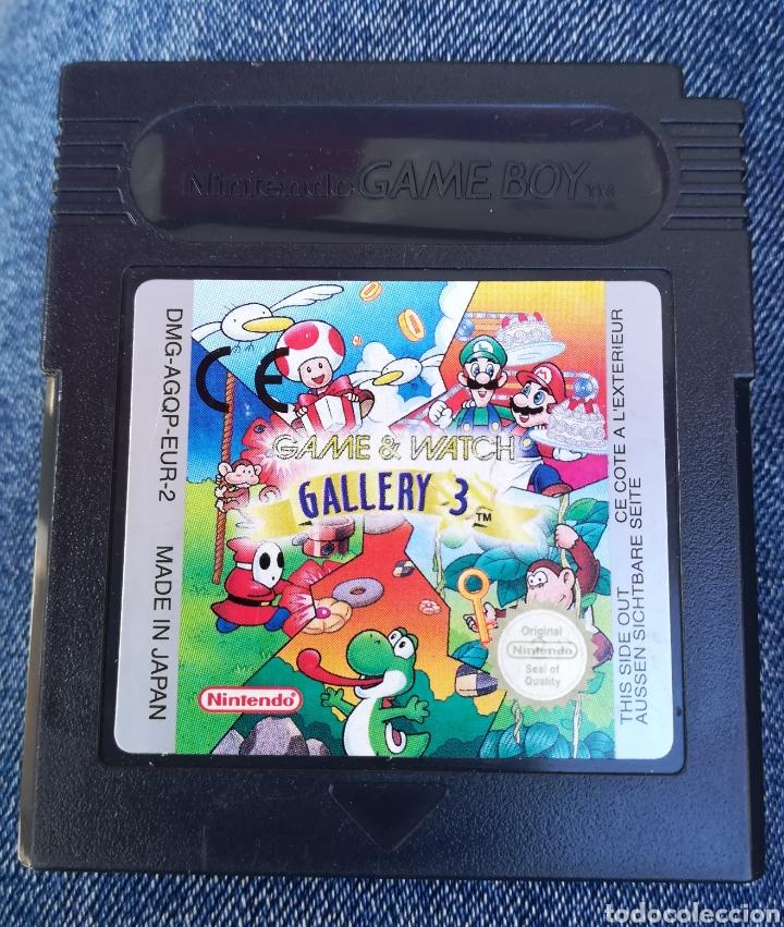 GAME WATCH GALLERY 3 ORIGINAL NINTENDO GAME BOY (Juguetes - Videojuegos y Consolas - Nintendo - GameBoy Color)