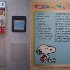 Videojuegos y Consolas: CARTUCHO 32 EN 1 NUEVO NINTENDO GAME BOY (LOGICAL - ROADSTERS 98 - SNOOPY - DR. MARIO - TESSERAE). Lote 235871545