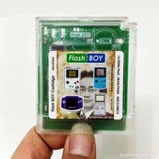 Videojuegos y Consolas: CARTUCHO GBC GRABABLE 16MBIT + 256K + CHIP ARCHIVO. Lote 236666470