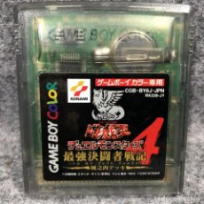 Videojuegos y Consolas: YU GI OH DUEL MONSTERS 4 JOUNOUCHI DECK NINTENDO GAME BOY COLOR GBC. Lote 241511605