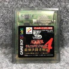 Videojuegos y Consolas: YU GI OH DUEL MONSTERS 4 JOUNOUCHI DECK NINTENDO GAME BOY COLOR GBC. Lote 241511675