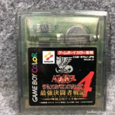 Videojuegos y Consolas: YU GI OH DUEL MONSTERS 4 JOUNOUCHI DECK NINTENDO GAME BOY COLOR GBC. Lote 241511745