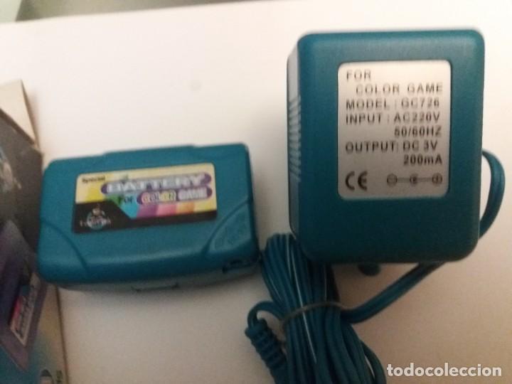 Videojuegos y Consolas: BATERIA Y CARGADOR ESPECIAL PARA CONSOLA GAME COLOR. ADAPTADOR IMPUT AC220-240 50HZ - Foto 3 - 241990760
