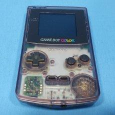 Videojuegos y Consolas: VIDEOCONSOLA - GAME BOY COLOR TRANSPARENTE - NINTENDO. Lote 242082680