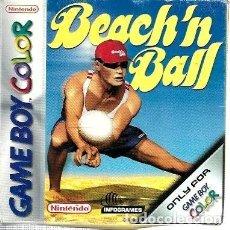 Videojuegos y Consolas: BEACH'N BALL PARA GAME BOY COLOR - CARTUCHO + CAJA E INSTRUCIONES. Lote 242822955