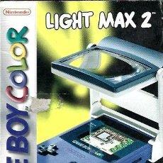 Videojuegos y Consolas: LIGHT MAX 2 CON CAJA E INSTRUCCIONES ( SE PUEDE UTILIZAR EN GAME BOY COLOR Y GAME BOY POCKET ). Lote 243053880