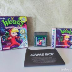 Videojuegos y Consolas: WENDY EVERY WITCH WAY GAME BOY COLOR COMPLETO. Lote 243087685
