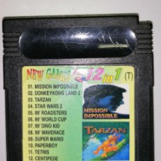 Videojuegos y Consolas: CARTUCHO 12 EN 1 (NO HAY REPETIDOS) NINTENDO GAME BOY COLOR ADVANCE. Lote 243114715