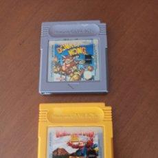 Videojuegos y Consolas: LOTE DE 2 JUEGOS DONKEY KONG DE GAMEBOY COLOR. Lote 243975785