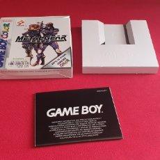 Videojuegos y Consolas: CAJA GAME BOY COLOR VACIA DEL JUEGO METAL GEAR SOLID. Lote 243980965