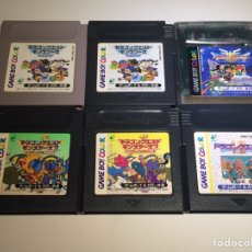 Videojuegos y Consolas: SEIS JUEGOS SAGA DRAGON QUEST GAME BOY/ GAME BOY COLOR JAPAN SAGA DRAGON QUEST. Lote 244495570