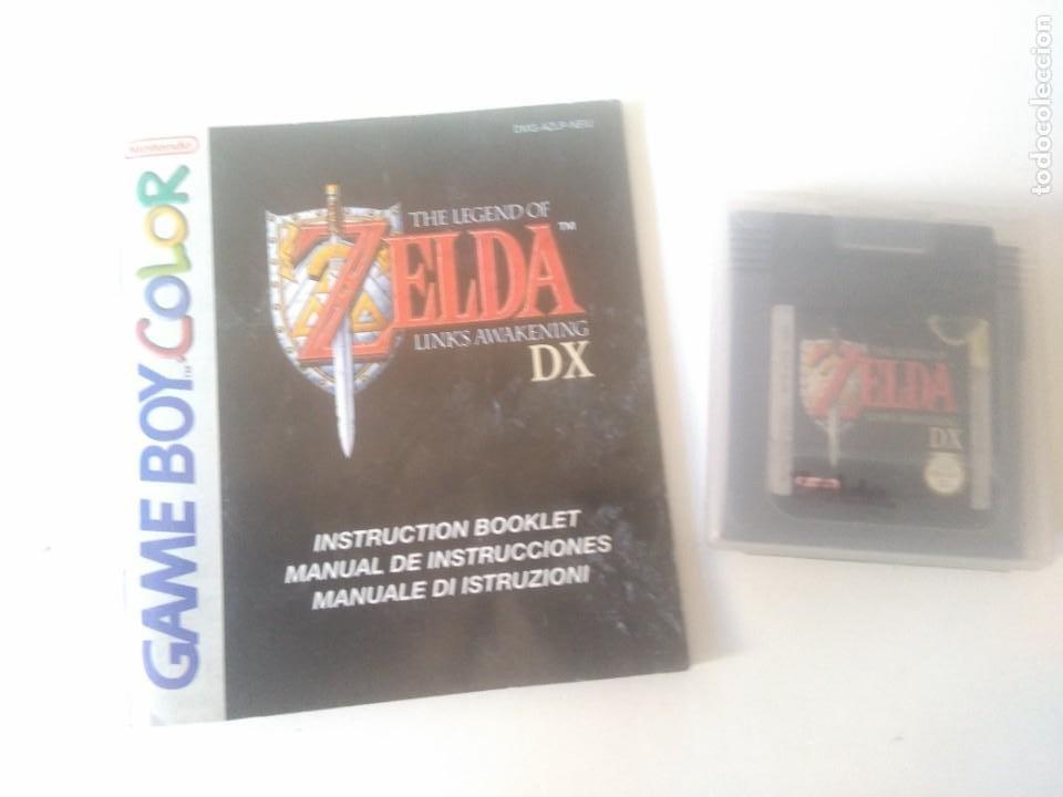 ZELDA GAMEBOY COLOR NINTENDO ENTRE Y MIRE MIS OTROS JUEGOS!! (Juguetes - Videojuegos y Consolas - Nintendo - GameBoy Color)
