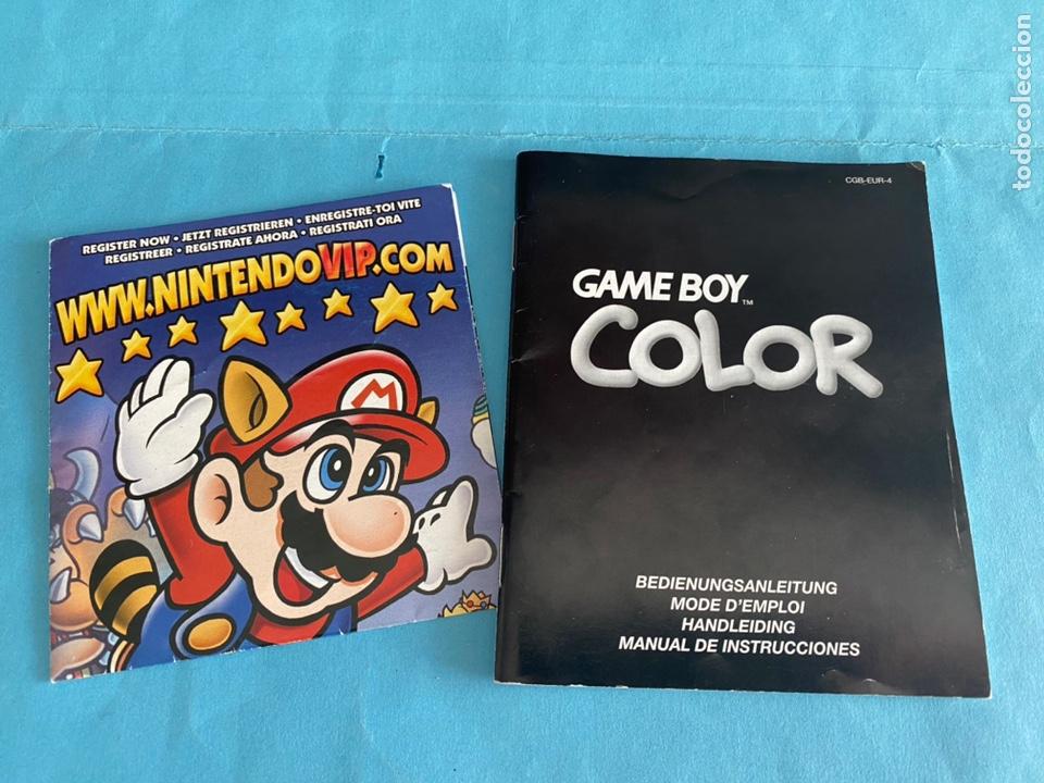 INSTRUCCIONES GAME BOY COLOR. INSTRUCCIONES EN CASTELLANO. FOLLETO NINTENDO VIP (Juguetes - Videojuegos y Consolas - Nintendo - GameBoy Color)