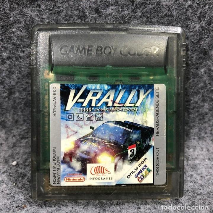 V RALLY CHAMPIONSHIP EDITION NINTENDO GAME BOY COLOR (Juguetes - Videojuegos y Consolas - Nintendo - GameBoy Color)