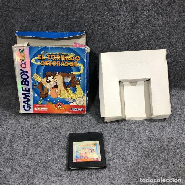 EL DEMONIO DE TASMANIA EL TORNADO DEVORADOR (NO MANUAL) (Juguetes - Videojuegos y Consolas - Nintendo - GameBoy Color)