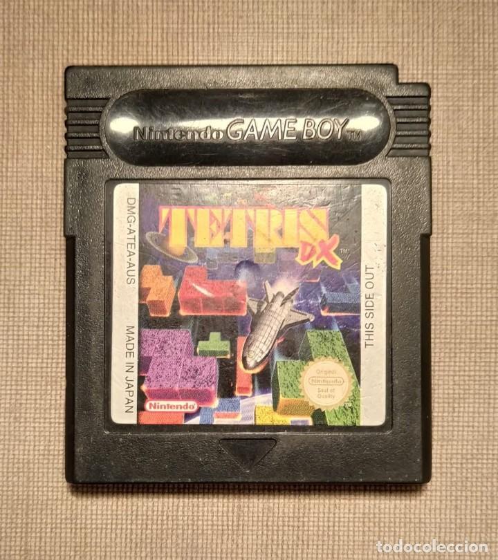 GAMEBOY - TETRIS DX - CARTUCHO - FUNCIONANDO (Juguetes - Videojuegos y Consolas - Nintendo - GameBoy Color)