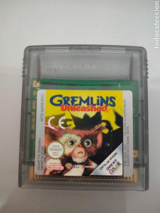 JUEGO GAMEBOY COLOR GREMLINS UNLEASHED NINTENDO (Juguetes - Videojuegos y Consolas - Nintendo - GameBoy Color)