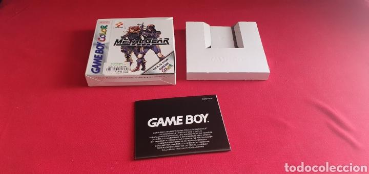 CAJA GAME BOY COLOR VACIA DEL JUEGO METAL GEAR SOLID (Juguetes - Videojuegos y Consolas - Nintendo - GameBoy Color)
