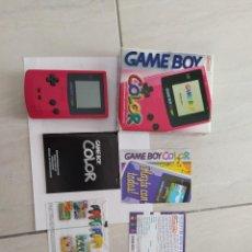 Videojuegos y Consolas: CONSOLA NINTENDO GAMEBOY GBC GAME BOYCOLOR COMPLETA PAL-EUROPA. Lote 248245090