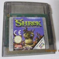 Videojuegos y Consolas: JUEGO GAME BOY COLOR NINTENDO SHREK. Lote 249036410