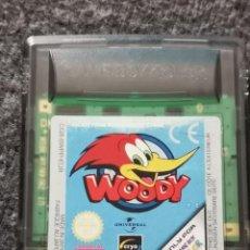Videojuegos y Consolas: WOODY (EL PÁJARO LOCO) PARA NINTENDO GAMEBOY COLOR. Lote 251155280