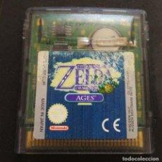 Videojuegos y Consolas: JUEGO THE LEGEND OF ZELDA - ORACLE OF AGES - GAME BOY NINTENDO - GAMEBOY COLOR CARTUCHO. Lote 253012940