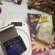 Videojuegos y Consolas: PACK 3 ACCESORIOS GAMEBOY COLOR LUPA,ALTAVOZ Y ADAPTADOR CARGADOR DE CORRIENTE. Lote 253455900
