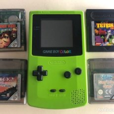 Videojuegos y Consolas: GAMEBOY COLOR LOTE CON 4 JUEGOS TODO ORIGINAL. Lote 253513445