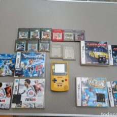 Videojuegos y Consolas: LOTE GB ED. POKEMON + 13 JUEGOS FUNCIONANDO SIN TAPAS DE PILAS. Lote 254328875