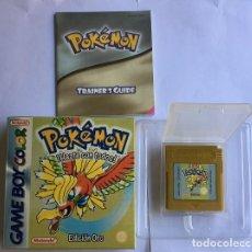 Videojuegos y Consolas: CARTUCHO GAMEBOY POKEMON ORO - CLONICO (VERSION ESPAÑOLA). Lote 255573020