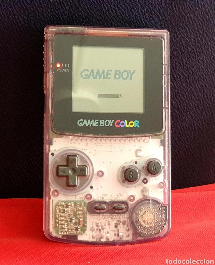 NINTENDO GAME BOY COLOR FUNCIONA (Juguetes - Videojuegos y Consolas - Nintendo - GameBoy Color)
