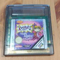 Videojuegos y Consolas: JUEGO DE CONSOLA NINTENDO GAME BOY COLOR , RUGRATS TOTALLY ANGELICA. Lote 258806255