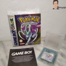Videogiochi e Consoli: POKEMON EDICIÓN CRISTAL (JUEGO GAME BOY COLOR) - CON CAJA ORIGINAL - GAMEBOY NINTENDO. Lote 261103265