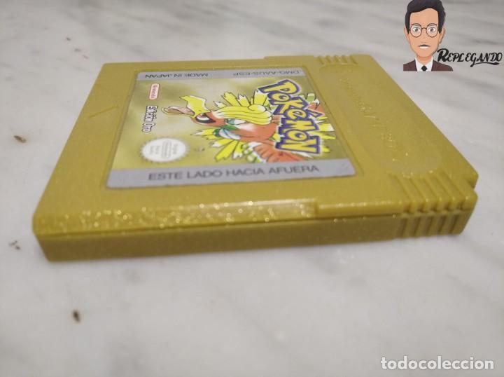 Videojuegos y Consolas: POKEMON EDICIÓN ORO JUEGO PARA NINTENDO GAMEBOY (GAME BOY COLOR) CON MANUAL DE REGALO. - Foto 5 - 261122885