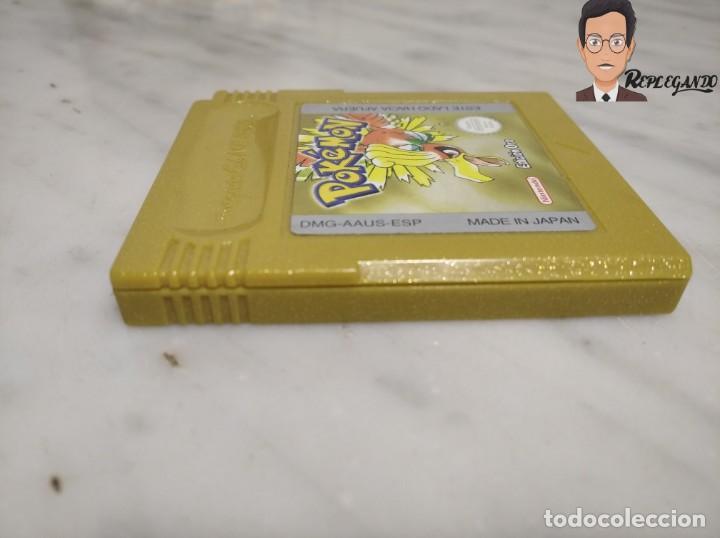 Videojuegos y Consolas: POKEMON EDICIÓN ORO JUEGO PARA NINTENDO GAMEBOY (GAME BOY COLOR) CON MANUAL DE REGALO. - Foto 7 - 261122885