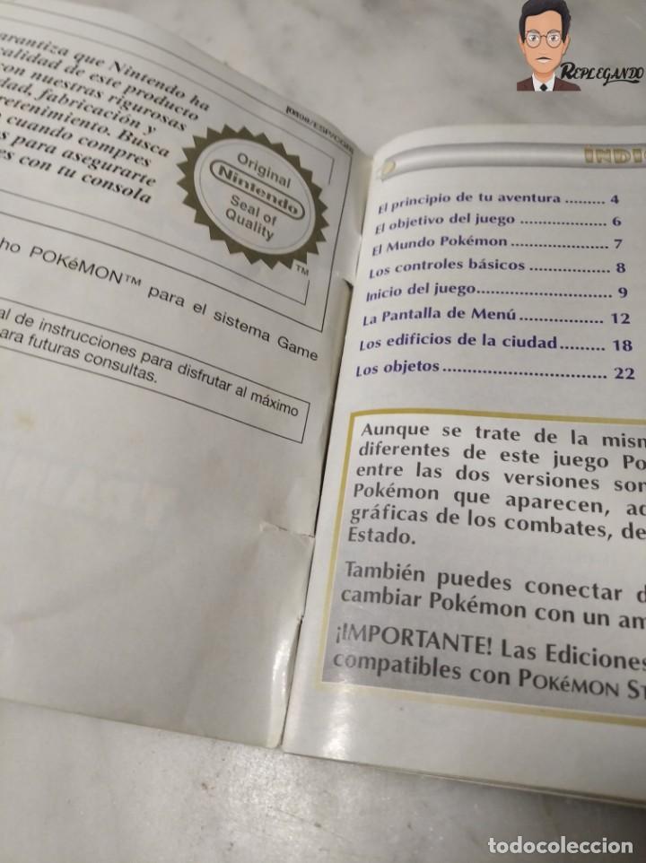 Videojuegos y Consolas: POKEMON EDICIÓN ORO JUEGO PARA NINTENDO GAMEBOY (GAME BOY COLOR) CON MANUAL DE REGALO. - Foto 12 - 261122885