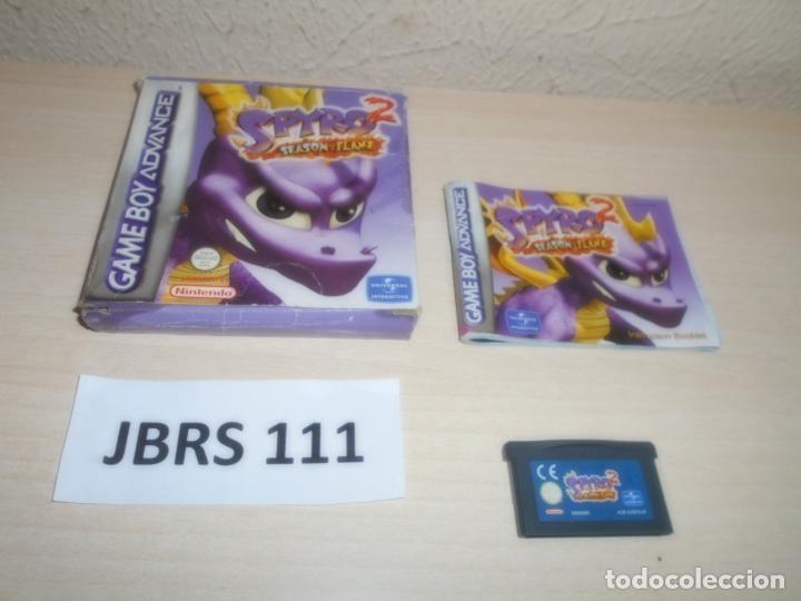 GAMEBOY ADVANCE - SPYRO 2 SEADON FLAME , PAL ESPAÑOL , COMPLETO (Juguetes - Videojuegos y Consolas - Nintendo - GameBoy Color)