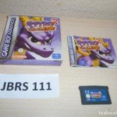 Videojuegos y Consolas: GAMEBOY ADVANCE - SPYRO 2 SEADON FLAME , PAL ESPAÑOL , COMPLETO. Lote 262046920