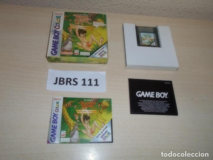 GAMEBOY COLOR - EL LIBRO DE LA SELVA - LAS AVENTURAS DE MOWGEI , PAL ESPAÑOL , COMPLETO (Juguetes - Videojuegos y Consolas - Nintendo - GameBoy Color)