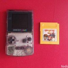 Videojuegos y Consolas: NINTENDO GAME BOY COLOR FUNCIONA CON EL JUEGO DONKEY KONG LAND 3. Lote 262390660