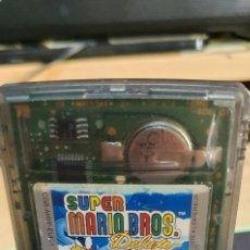 Videojuegos y Consolas: NINTENDO GAMEBOY COLOR SUPER MARIO BROS DELUXE PILA ON. Lote 262499445